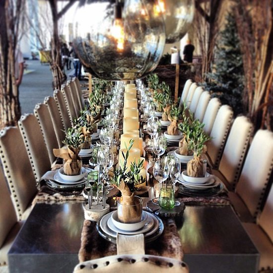 A Setting For The Festive Season Holiday Table Decor